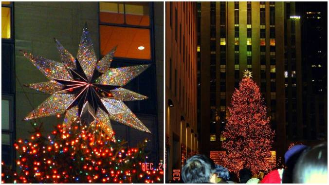 NYC Evening Out on X-mas Eve