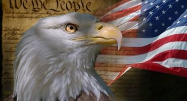 Constitution Flag Eagle