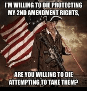 2A Willing To Die Protecting