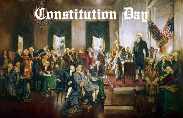Constitution Day signing