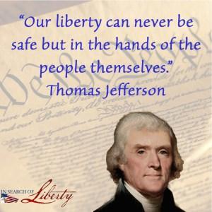 Thomas Jefferson - liberty