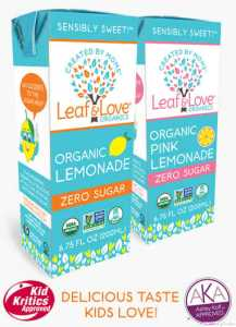 leaf and love pink lemonade
