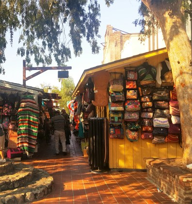 Entrance to Olvera Street