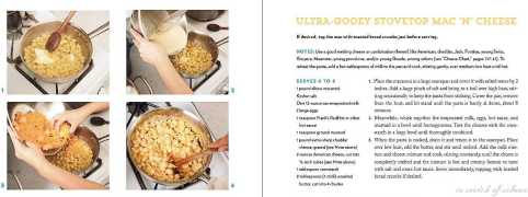 Mac & Cheese Recipe from the book