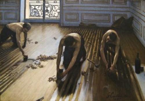 Caillebotte Les raboteurs de parquets (1875)