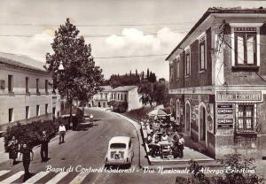 Vermouth Cinzano e palazzina dei Bagni Termali - Contursi Terme