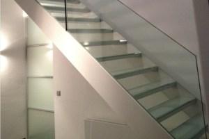 AVC Glastreppe CAMELEON C, AVC escalier en verre CAMELEON C