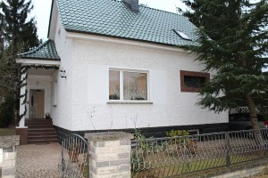 Außenansicht Einfamilienhaus