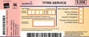 Titre-service Sodexo
