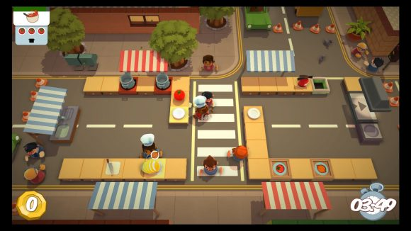 OVERCOOKED Test PS4 Insert Coin