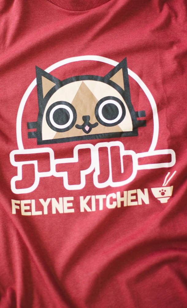 Felyne Kitchen Girly Fit Insert Coin Clothing