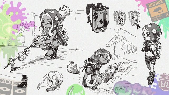 Top 100 Splatoon 2 Octo Expansion Coloring Pages Coloring