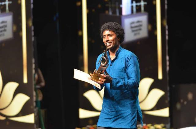 Best Vocalist - 2015 Sumathi Tele Awards