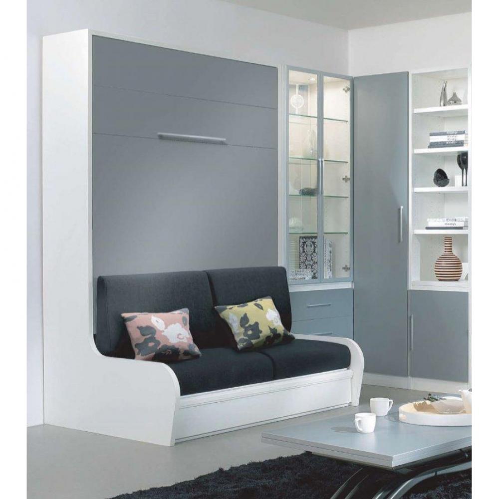 armoire lit escamotable camrevetement polyurethanes jacquelin autoporteur avec canape couchage 140cm