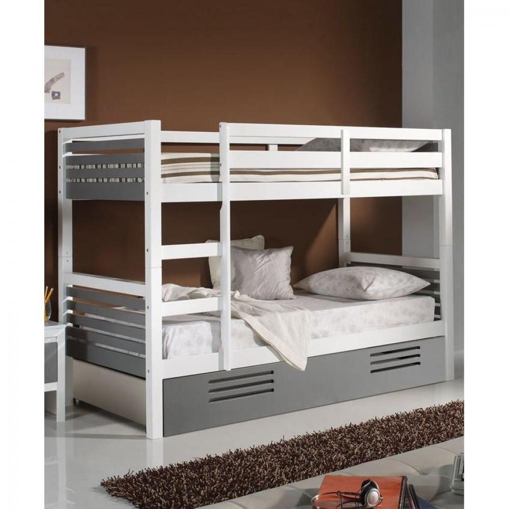 lits superposes chambre literie lit