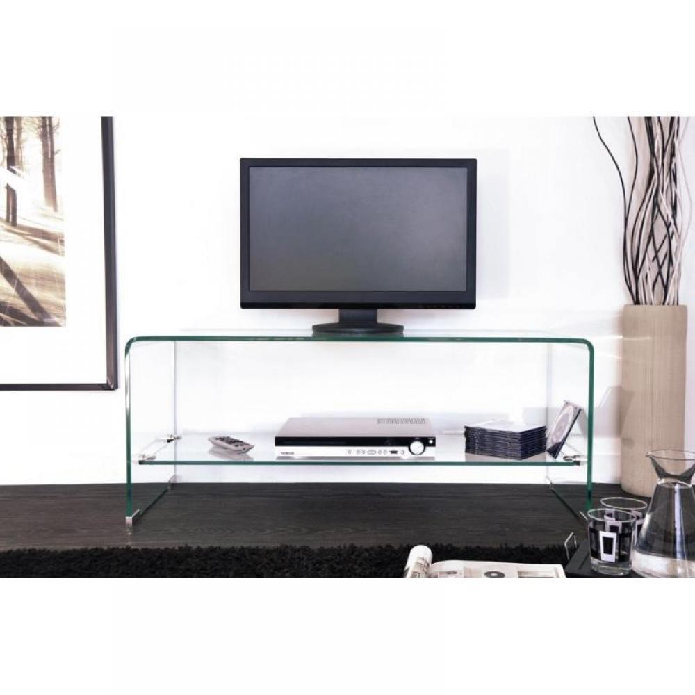 meuble tv design side en verre