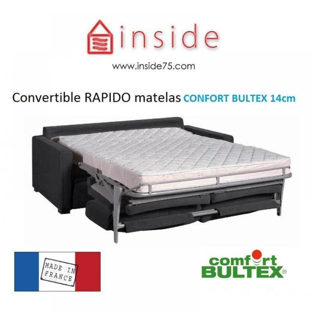 Canapes Confort Bultex Convertibles Express Canape Lit Osman Convertible 140cm Ouverture Express Matelas Confort Bultex 14 Cm Inside75