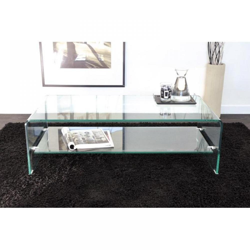 table basse design side en verre