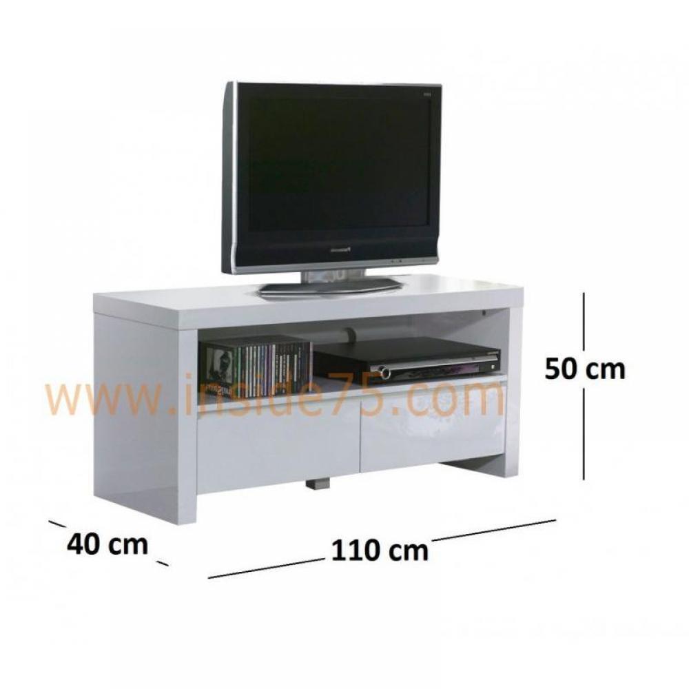 meubles et rangements white meuble tv