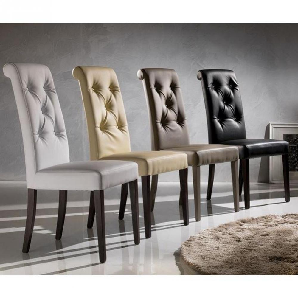Chaises Tables Et Chaises Chaise BILLIONAIRE En Tissu