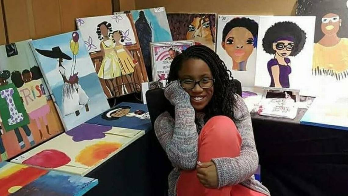 Raleigh girl sells 500 paintings
