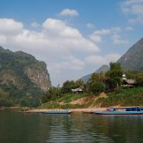 Cruising through northern Laos