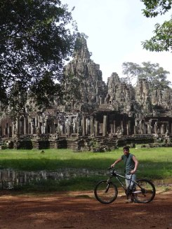 Exploring Angkor by bike