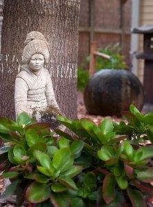 Backyard Zen in Daphne Jeffers' Austin garden