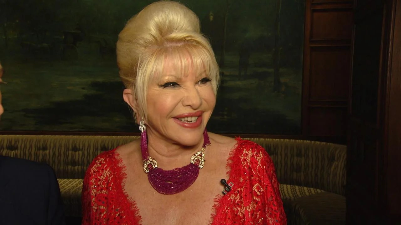 President Trump S Ex Wife Ivana Wishes Melania All The