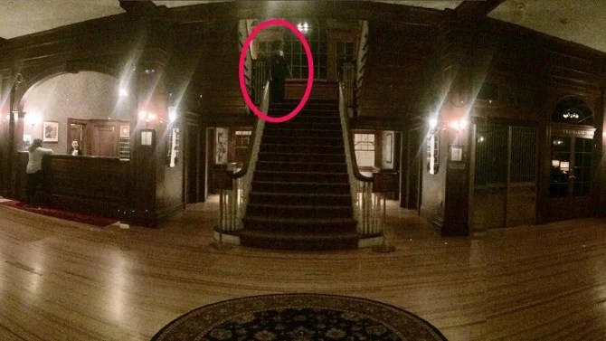 Was A Ghost Spotted At The Hotel That Inspired The