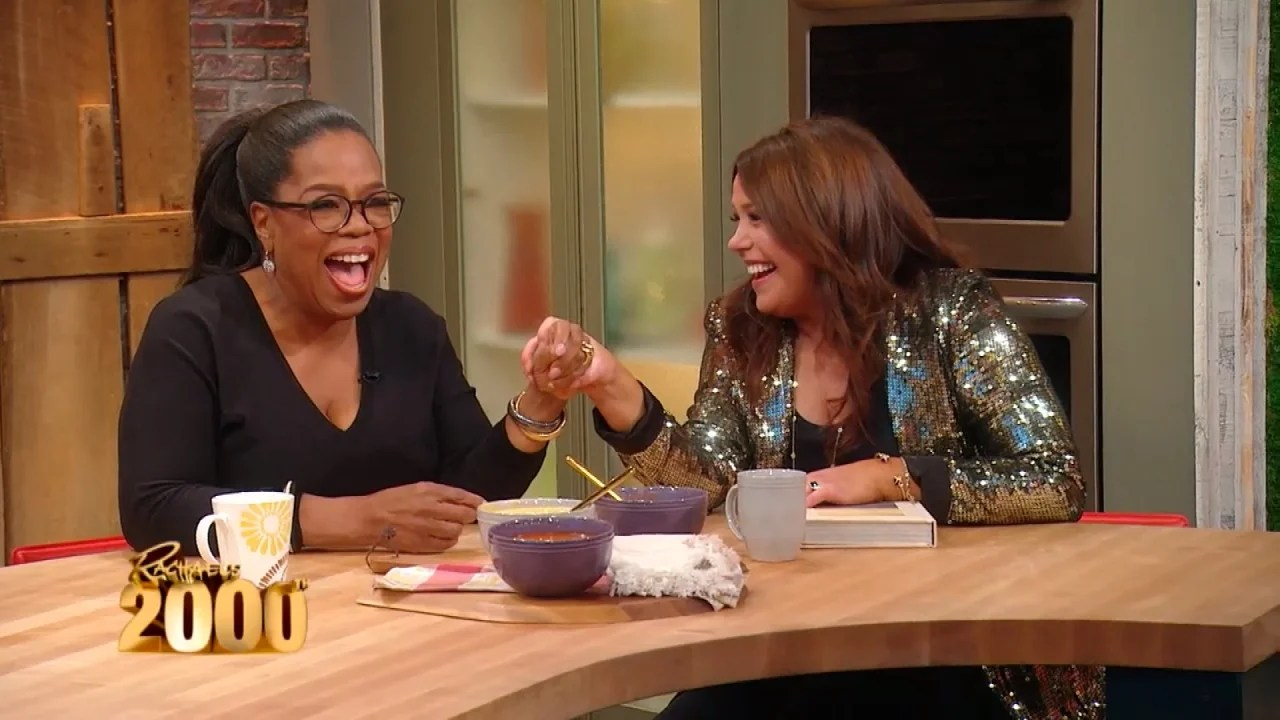 Oprah Makes Surprise Appearance To Help Rachael Ray Celebrate Her 2000th Episode Inside Edition