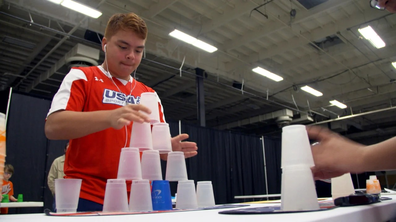 Cup Stacking Competition Becomes Growing Phenomenon Across America Inside Edition