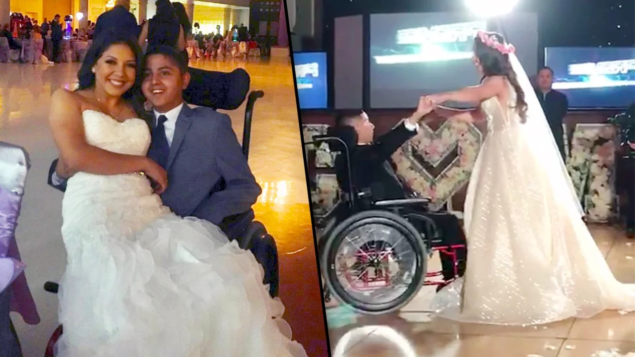 Texas Bride Cesiah Aviles Nieto Dances With Her Terminally Ill Brother At Her Wedding Inside