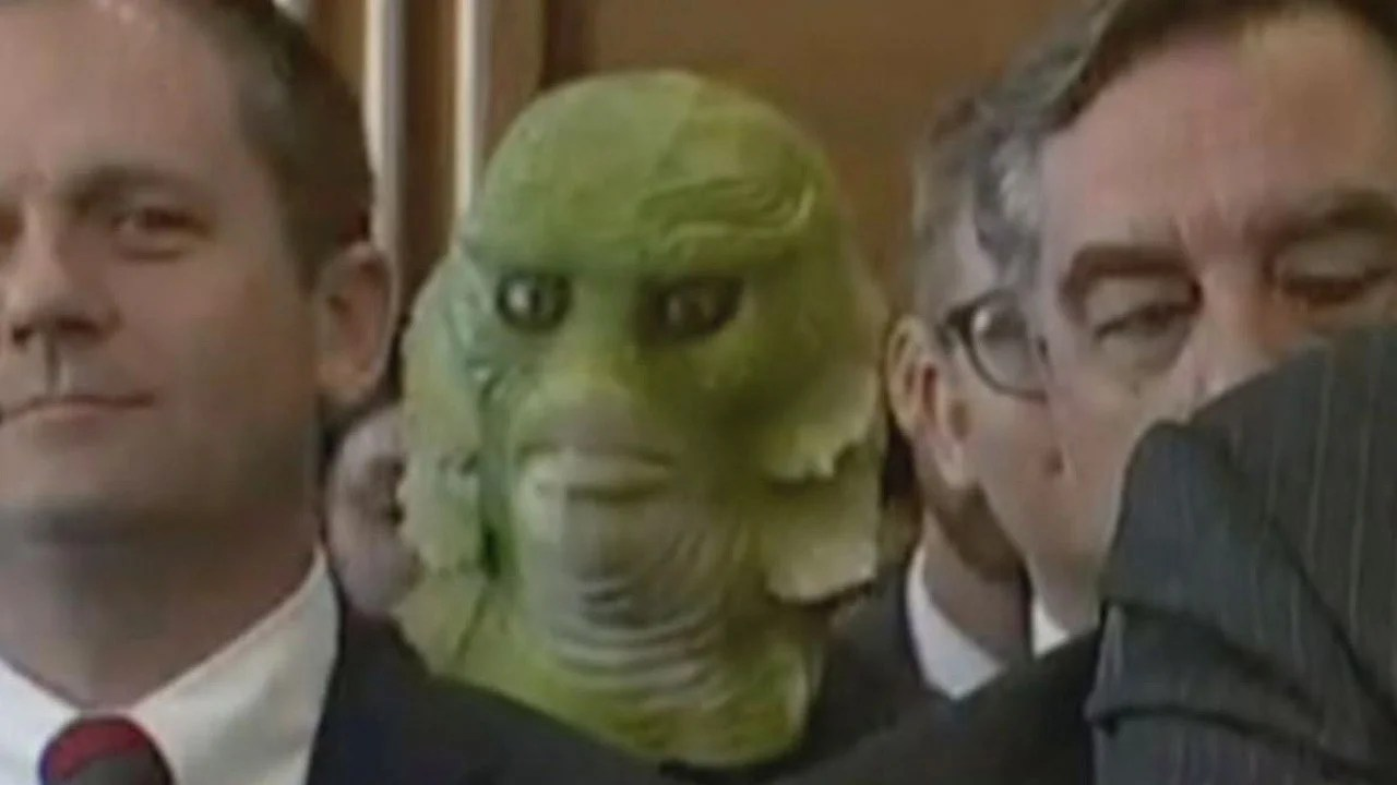 Swamp Thing Attends Hearing On Capitol Hill Inside Edition