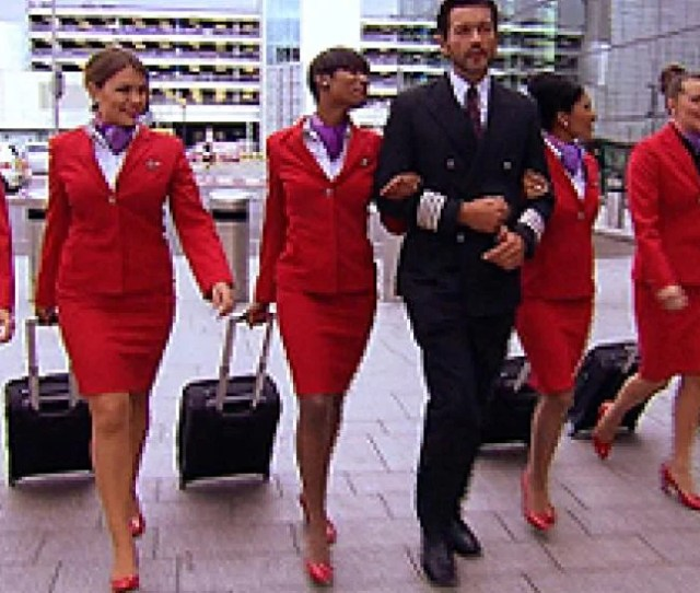 The Sexiest Flight Attendants Ever Inside Edition