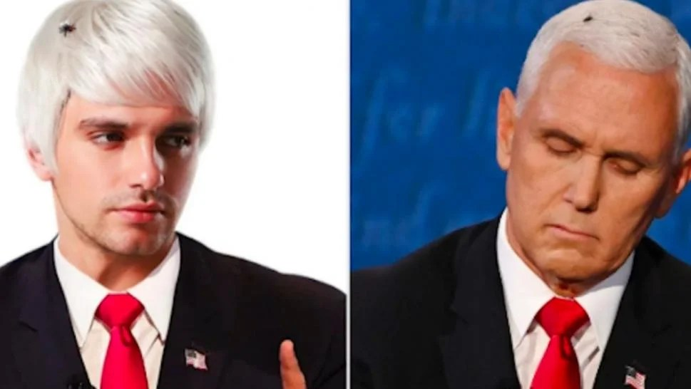 You Can Be Pence With A Fly In His Hair For Halloween By Wearing This Wig Inside Edition