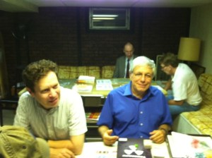 DR. Gary Andrews and Roger Cooper at the Wednesday Night  Gaming Group