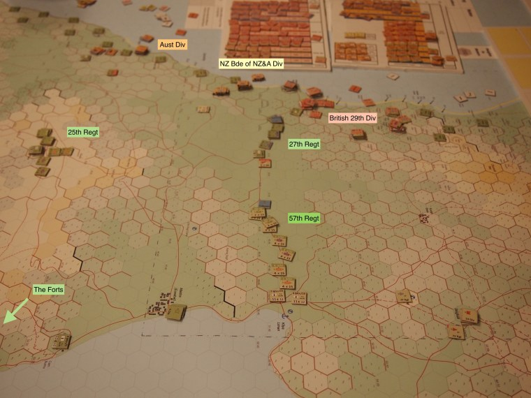 Image 4 - Looking West as Ottoman reinforcements head for the beaches