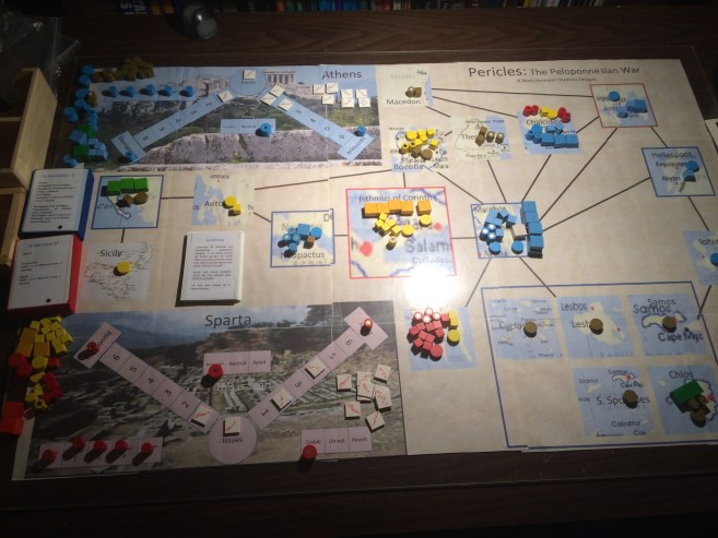 Pericles: The Peloponnesian Wars playtest map