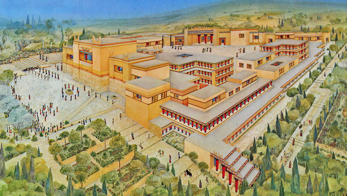 the talent created by simply any minoan civilization appeared to be created