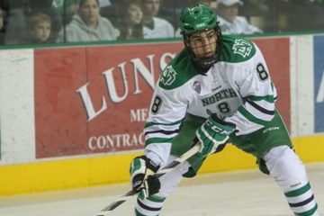 UND forward Nick Schmatlz (Peter Bottini UND Athletics)