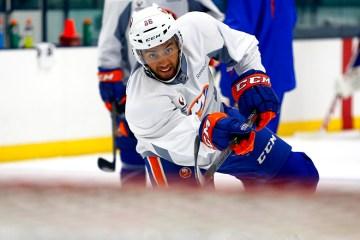 Josh Ho Sang (Brandon Titus/Inside Hockey)