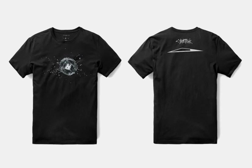 T-shirt Tesla Cybertruck