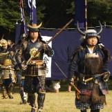 Japan Honshu Island Tokyo Samurai Costume Battle Renactment