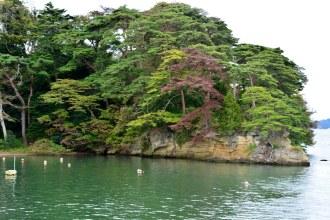 Matsushima Bay's Fukuurajima Island