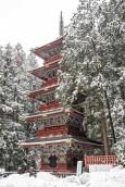 Nikko's five-tiered pagoda