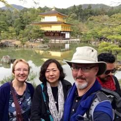At the Golden Pavilion: Kinkaku-ji