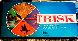 Inside Magic Image of the Classic Mystic Hollow Michigan Game of TRISK - The Game of Global Magicians