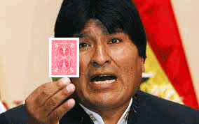 Image of Juan Evo Morales Ayma