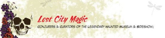 Lost City Magic Graphic